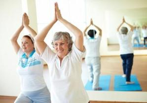 Yoga for the older population image