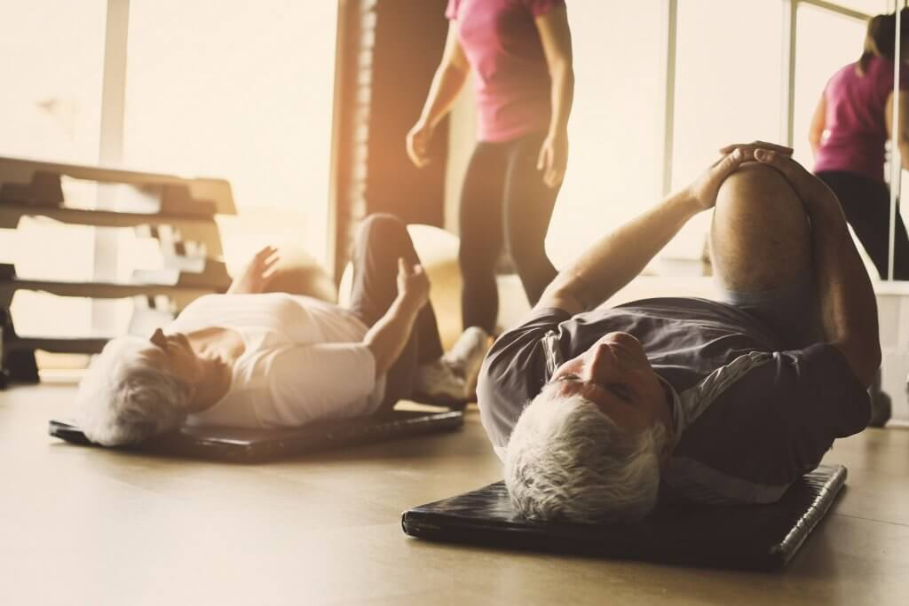 Why is exercise important in your 40s